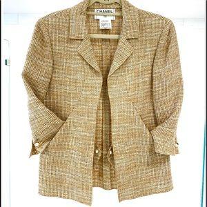 CHANEL linen Jacket